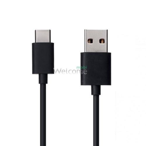 USB кабель DEX XS-009 Type-C 2.1A 1m black