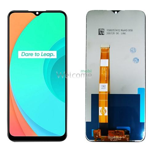 Дисплей Realme C11 (RMX2185)/C12/C15 with touchscreen black Original PRC