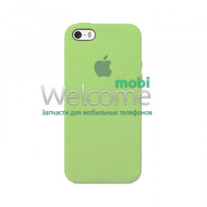 Silicone case for iPhone SE/5/5S ( 1) green