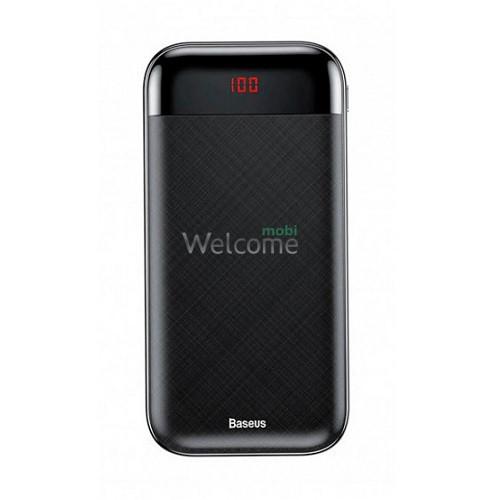 Зовнішній акумулятор (power bank) Baseus Mini Cu Digital LCD 20000mAh Black (PPALL-CKU01)