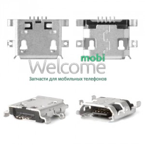 Конектор зарядки Xiaomi Mi1/Mi1s/Alcatel 5020/6030/7040 (5шт.)