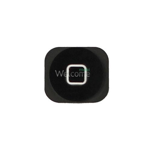 Кнопка меню (home) iPhone 5/5C black