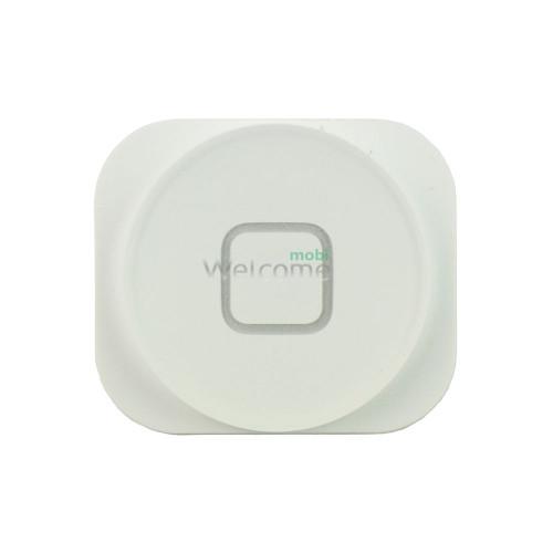 Кнопка меню (home) iPhone 5/5C white