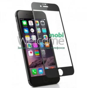 Скло iPhone 7/8/SE 2020 4.7 (0.3 мм, 4D, чорне) Люкс