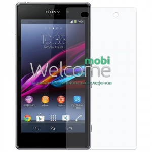 Скло Sony C6902 Xperia Z1C6903/C6906/C6943 (0.3 мм, 2.5D, з олеофобним покриттям)