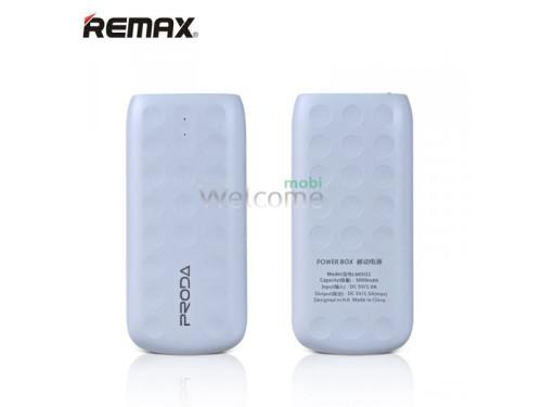 Зовнішній акумулятор (power bank) Proda Lovely Remax 5000Ah white