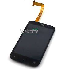 Дисплей HTC A320 Desire C with touchscreen black orig