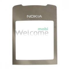 Скло корпусу Nokia 8800 Sirocco silver