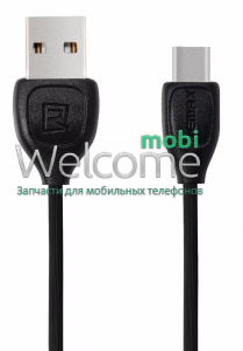 USB кабель Type-C Remax Lesu RC-050a, 1m black