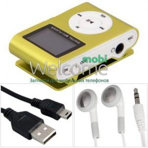 MP3 плеєр + LCD ( FM радіо) gold