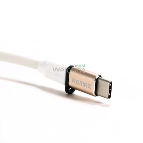 Перехідник Remax Feliz RA-USB1 microUSB(F) to Type C (M) Gold