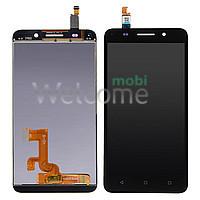 Дисплей Huawei Honor 4X/Glory Play 4X в зборі з сенсором black