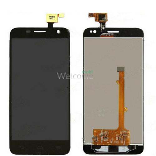 Дисплей Alcatel Idol mini 6012D в зборі з сенсором black orig