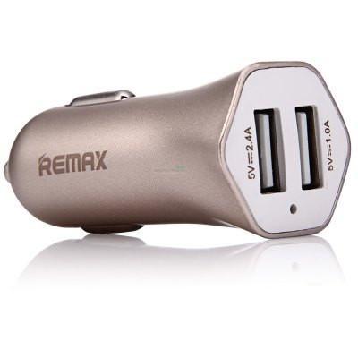 АЗП Remax RCC-204 Speed 7 3.1A ( 2USB) gold
