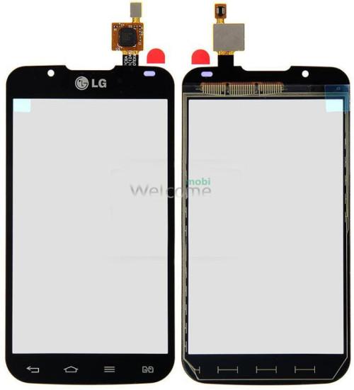 Сенсор LG P715 Optimus L7 II black orig