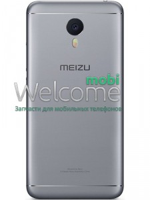 Задня кришка Meizu M3 Note grey (L681h)