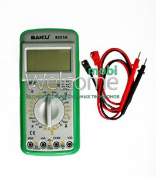 Мультиметр цифровий BAKU BK-9205A з функцією автовідключення