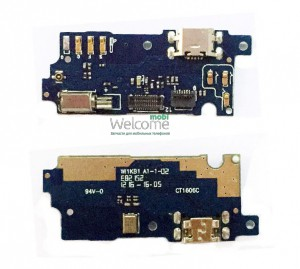 Mainboard Meizu M3 with charge connector