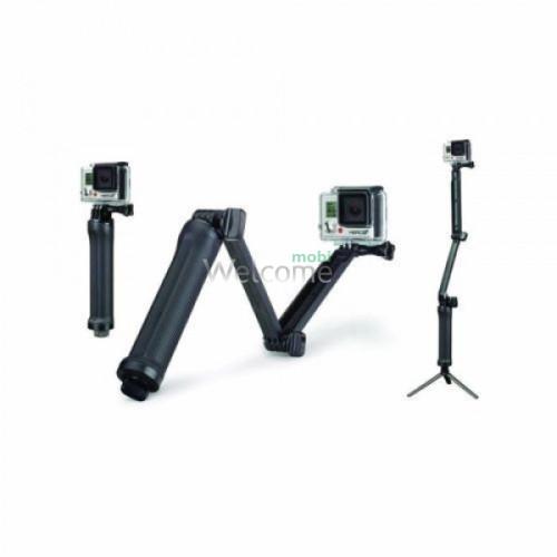 3в1 монопод-рукоятка-трипод для GoPro і смартфонів