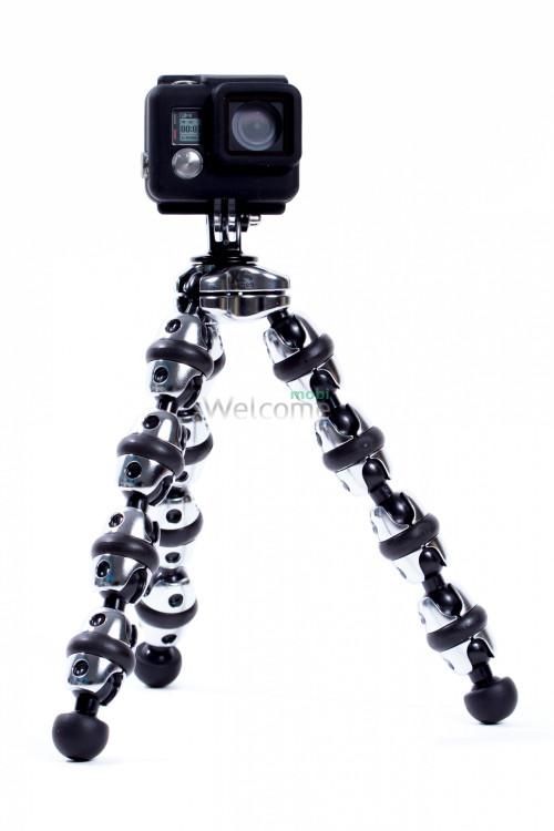 Штатив-трансформер для GoPro і смартфонів