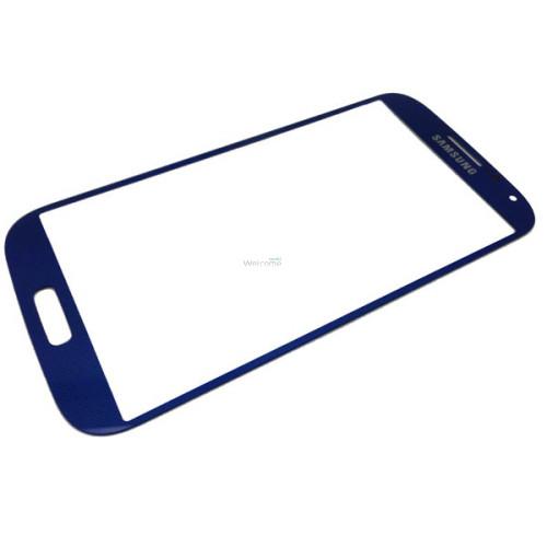 Скло корпусу Samsung I9500 Galaxy S4 blue high copy