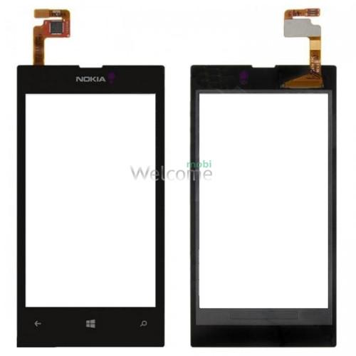 Сенсор Nokia 520/525 Lumia black orig