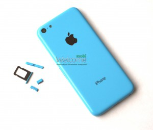 iPhone5C back cover blue orig