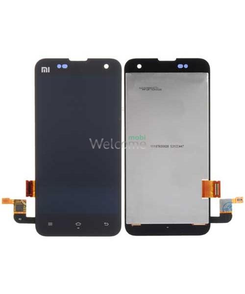 Дисплей Xiaomi Mi2/Mi2s black with touchscreen