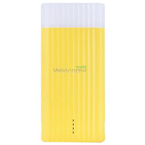 Зовнішній акумулятор (power bank) Proda Ice Cream Remax 10000Ah yellow