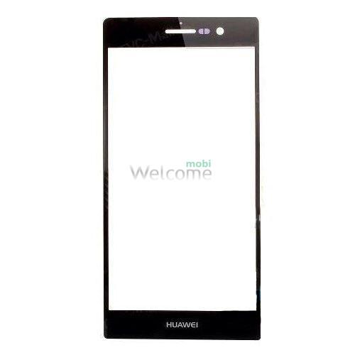 Скло корпусу Huawei P6 black orig