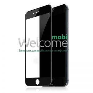 Скло iPhone 7 Plus/8 Plus 5.5 (0.3 мм, 4D, чорне) Люкс