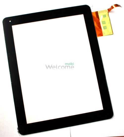 Сенсор для China-Tablet PC 9,7 Globex GU901C IconBIT NetTAB Space Flytouch H08S Hapad X10, X2 Texet TM-9720, TM-9740 Explay Informer 921 Tablets, (black, capacitive, 12 pin, (237 * 184 mm), 9.7 ) # 300-L3456B-A00 VER1.0