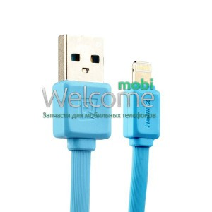 USB кабель Lightning Remax Fast RC-008i, 1m blue