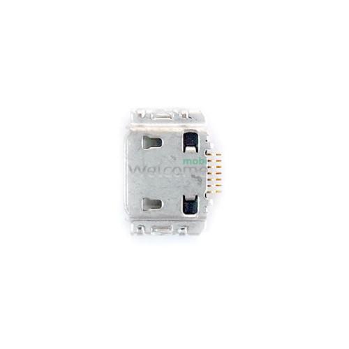 Конектор зарядки Samsung I9000/I8910/S5350/S5660/I9001/I9003/S7220 high copy (5шт.)
