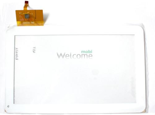 Сенсор к планшету №036 ASSISTANT AP100  размер 256*159((AD-C-10050-1-FPC) , 0PD-TPC0057) white