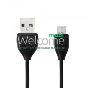 USB кабель micro Remax Lesu RC-050m, 1m black