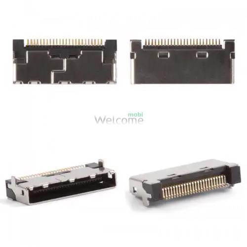 Конектор зарядки LG C3300/C2100/A7150/C3310/C3320/C3400/F1200/G1600/G1610/G7030/L1100/L342i orig (5 шт.)