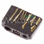 Конектор зарядки Nokia 6030/1110/1112/1600/2310/2610 orig (5 шт.)