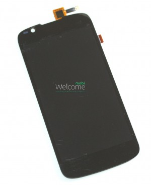 Дисплей FLY IQ4413 Quad black with touchscreen 25 pin orig
