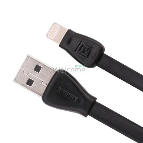 USB кабель Remax Martin Lightning 1м black