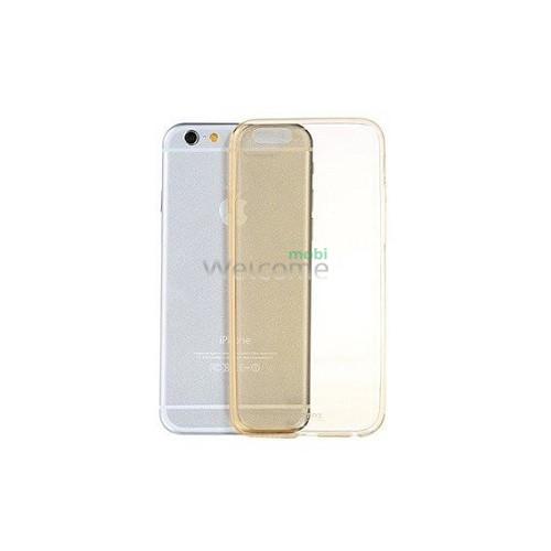 Чохол пластиковий Remax Clear Series iPhone 6 Plus/6S Plus gold
