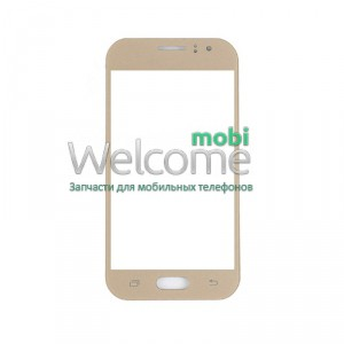 Скло корпусу Samsung J110 Galaxy J1 gold orig