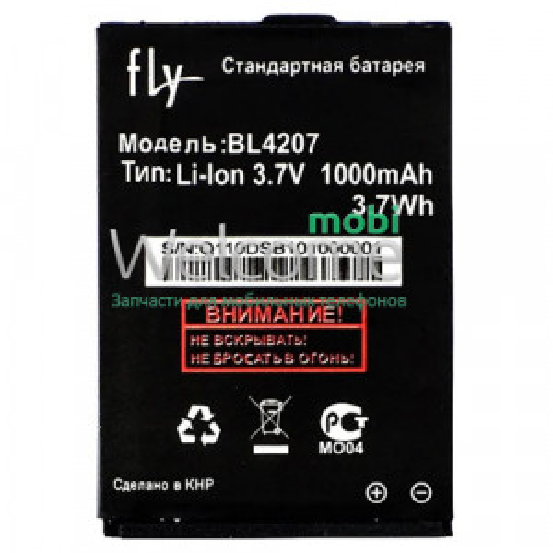 АКБ Fly BL4207 Q110TV