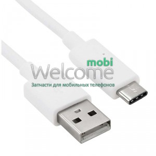 USB кабель Type C white