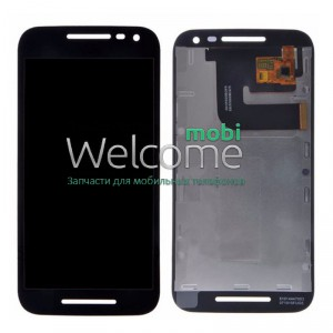 Дисплей Motorola XT1540 Moto G3/XT1541/XT1544/XT1548/XT1550 with touchscreen black orig