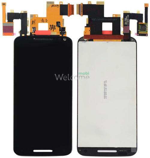 Дисплей Motorola XT1572 Moto X Style with touchscreen black orig