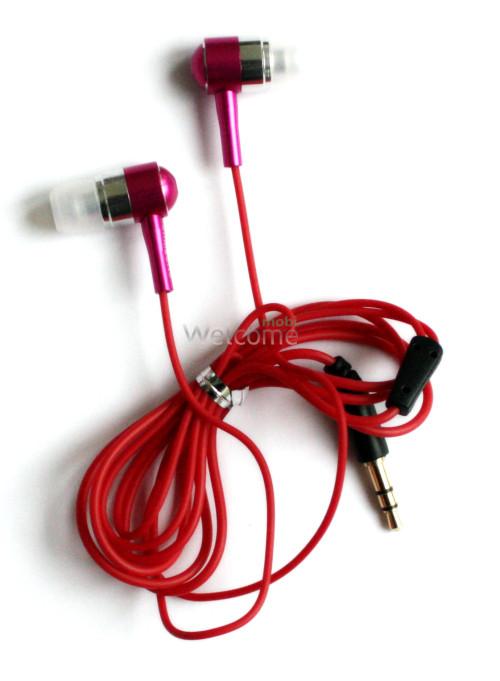 Навушники Samsung SA-3200 metal pink