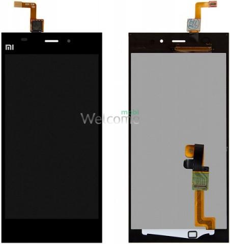 Дисплей Xiaomi Mi3 black with touchscreen