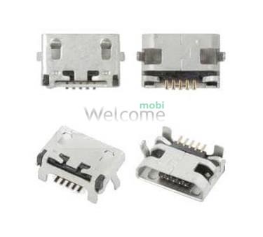 Коннектор зарядки Lenovo A316,A316i,A390,A5000,A7000 orig (5 шт.)