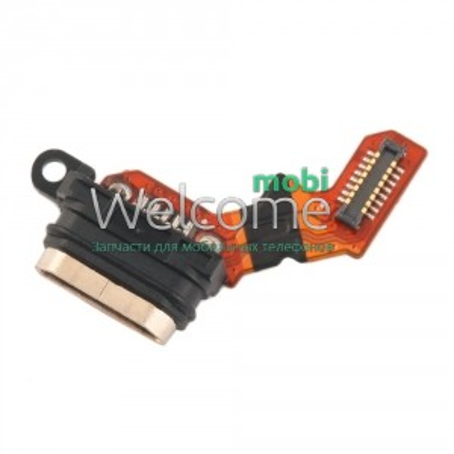 Шлейф Sony E2333 M4 Aqua Dual/E2312/E2306/E2303 з роз`ємом зарядки